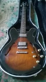 Epiphone Dot / E335. Korean built with upgrades. possible p/ex acoustic