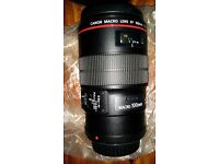 Canon EF 100mm f/2.8L Macro IS USM Mint Boxed £REDUCED£ £465