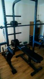 IronMaster Rack and Bench package