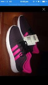 Woman's adidas trainers size 5 brand new with tags