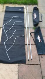 A lot camping gear sleeping bags mats materasses beds, tables, kichen cupboards!