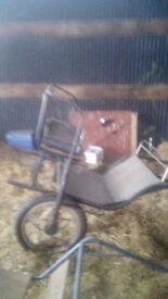 Two wheel exercise kart £125 ono