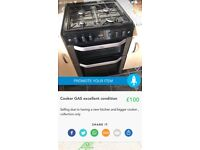 Gas cooker mint condition