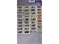 58 boxed lledo cars. vans