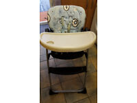 CHICCO HIGHCHAIR - BABY TODDLER HIGHCHAIR