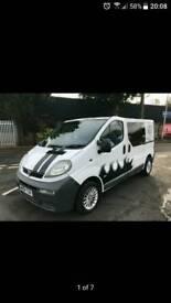 Crew van may swap with a small van