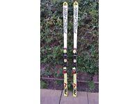 2 pair of Fischer race skis- Super G length