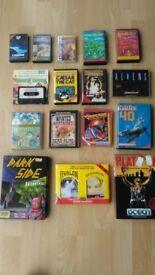 Seventeen ZX Spectrum Games