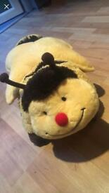 Bumble bee pillowpets
