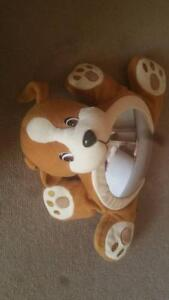 Rear facing baby mirror - puppy design - as new Greenvale Hume Area Preview