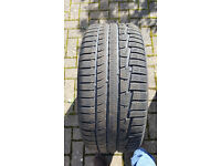 4 Nokian winter tyres for BMW 5 Series. Size 225/55/R17. Run flats. Driven for 6,000 miles. 9mm