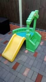 Little Tikes Outdoor/Indoor Plastic First Slide
