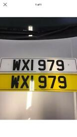 Number plate for sale WXI 979