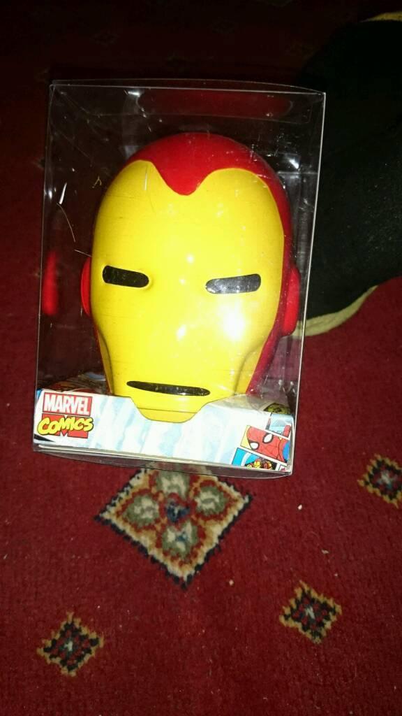 Ironman helmet money bank