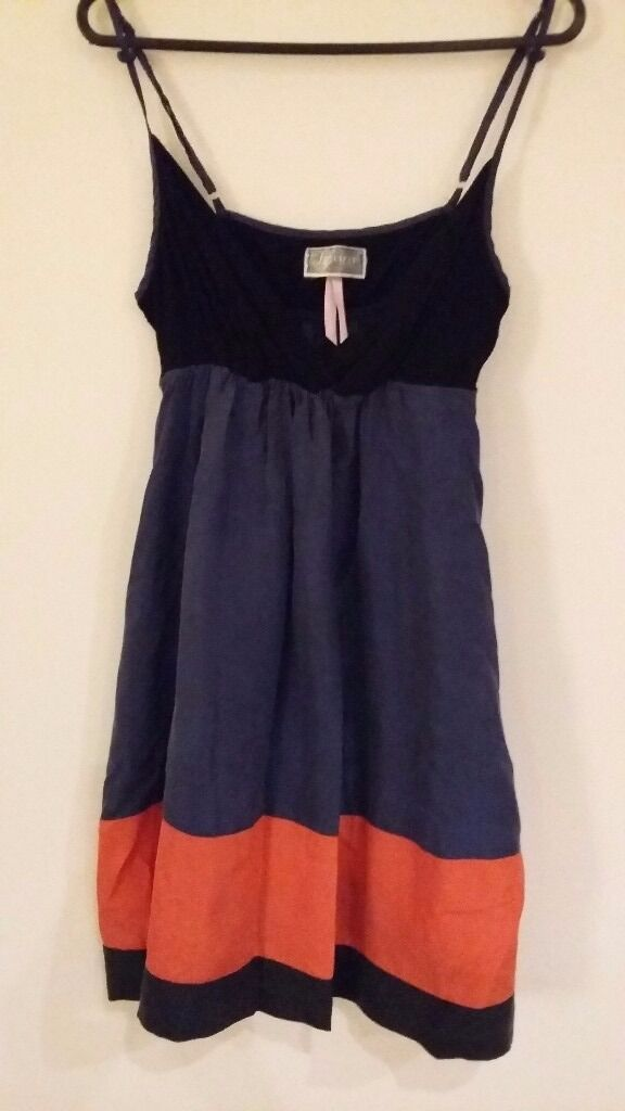 Lipsy Dress Size 10in Manningtree, EssexGumtree - Lipsy Dress in blue, orange/red and black. Hardly worn. Size 10. Perfect for summer holidays