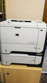 HP laser printer p3015x duplex network
