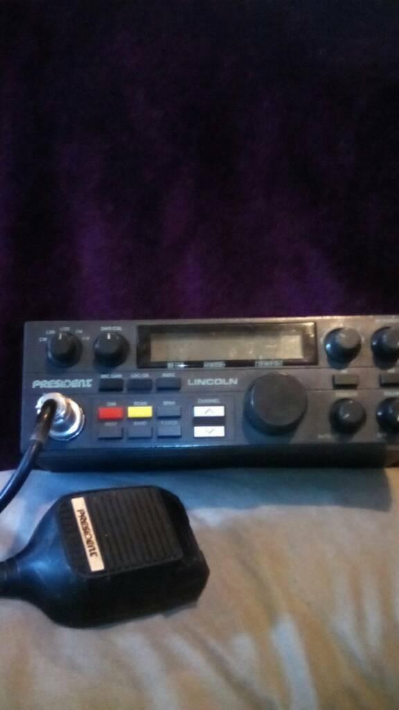 President lincoln amateur radio