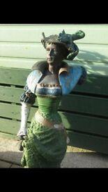 Bronze vitorian lady