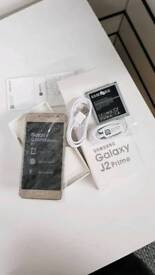 Samsung galaxy J2 prime Brand new with warranty and accessories unlocked!