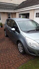 2011 on 61 plate Vauxhall Meriva 1.4t 16v Exclusive