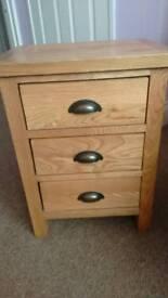 Wiltshire Oak Bed Side Table