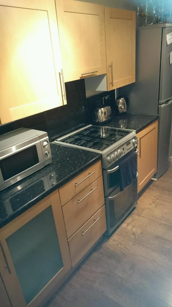 b q birch veneer shaker kitchen cupboard doors in chilton county