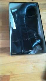 Designer Leather Boots