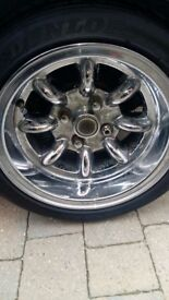 Classic Mini wheels 13""