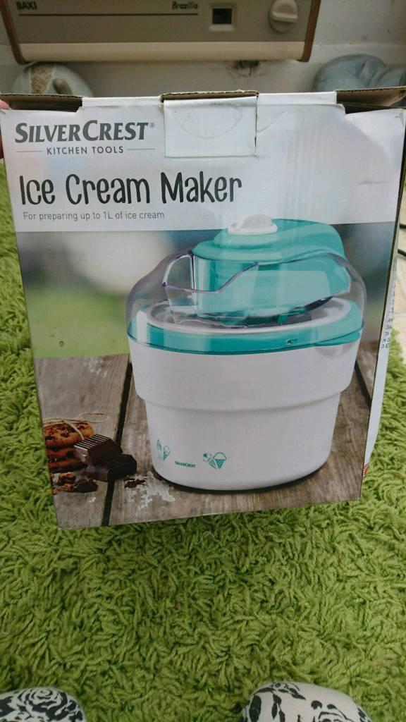 Icecream maker, band new, silvercrest Icecream maker