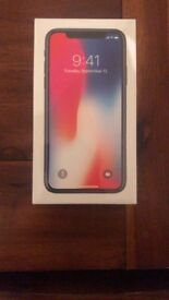 IPHONE X SPACE GREY 256GB UNLOCKED BRAND NEW SEALED