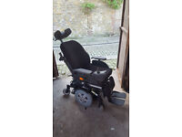 Invacare TDX SP2 NB, Mid wheel drive power chair, with electric extras