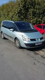 Renault espace for swaps only for another 7 seater