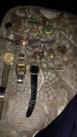 Bag full of scrap metals