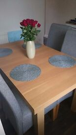 Table without chair