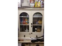 Shabby Upper sideboard cupboard unit shelves