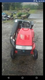 Snapper ride on lawnmower mower