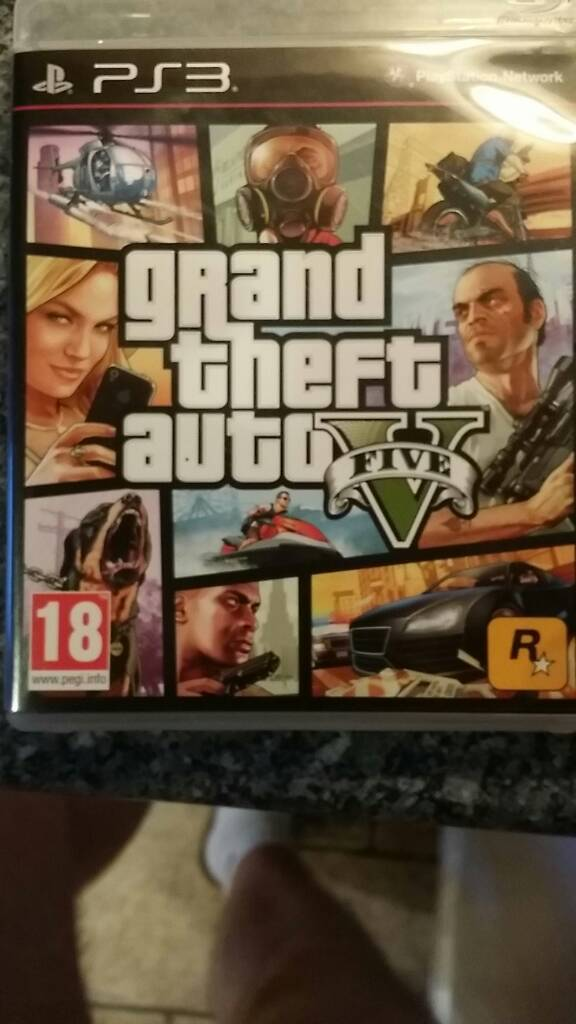 GTA V PS3in Gloucester, GloucestershireGumtree - GTA V Ps3 in perfect working order. collection GL4