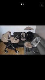 Silver cross baby's pushchair