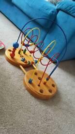 Baby bead Toy