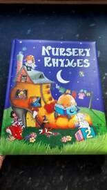 Brand new nursery rhymes book
