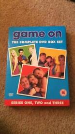 Game On - complete series 1/2/3 DVD box set