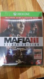 Mafia 3 Deluxe edition new with Season pass