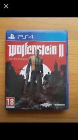 wolfenstein 2 PS4 / PlayStation 4