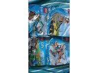 4 x lego city bags
