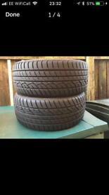 """2 x 17"""" Rovello Tyres RPX-988 225/45ZR17"""