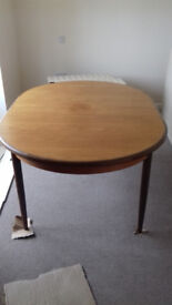 G Plan Extendable Dining Table and 6 Chairs