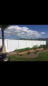 High quality PVC vinyl fences and temporary construction fence panels
