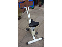 For sale Leisurewise exercise bike