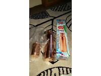 Copper water bottle and copper cup - unwanted gift -