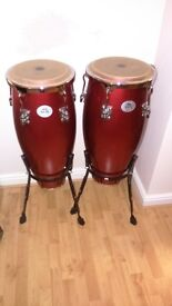 Pair of Natal Spirit Congas, great sound, excellent condition,